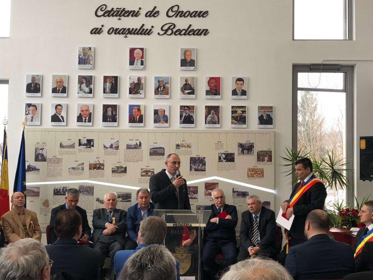 """Decsei Attila, preşedinte UDMR Bistriţa-Năsăud: """"La mulţi ani, Beclean! La mulţi ani, România! Să fim uniţi!"""""""
