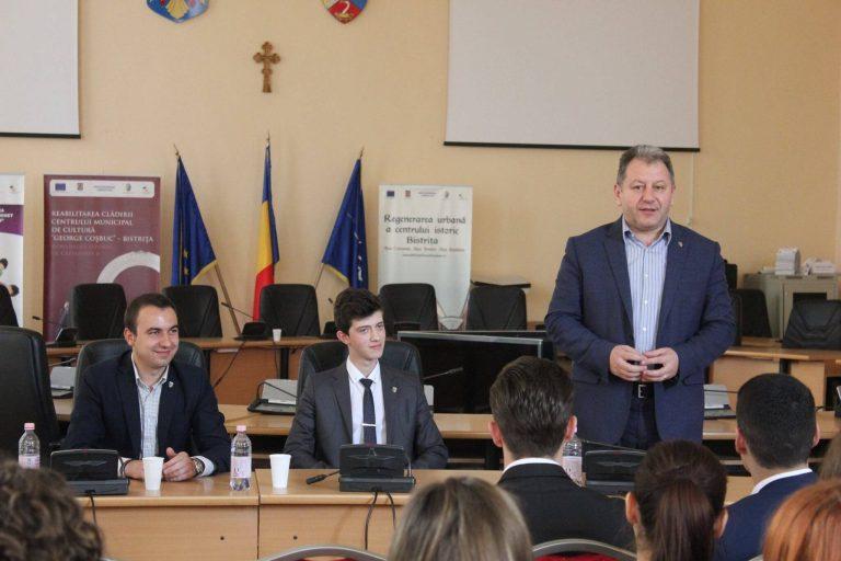 Alex Ignatiuc din Beclean e noul lider al Ligii Elevilor Social-Democraţi din Bistriţa-Năsăud