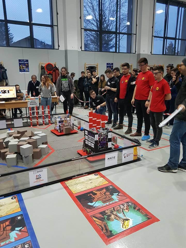 Tabără naţională de robotică la Beclean