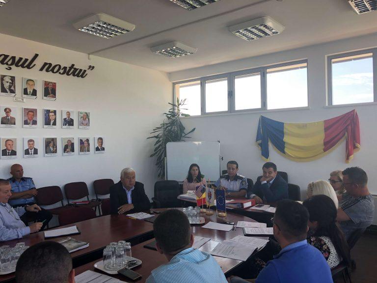 Noul şef al Poliţiei Române, pe panoul de onoare al oraşului Beclean