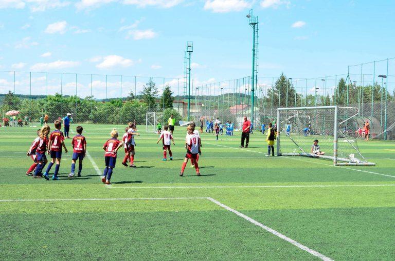 """""""Olympia"""" Beclean, la turneul internaţional organizat de şcoala italiană de fotbal din Debrecen"""
