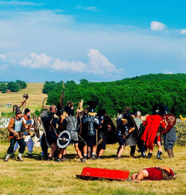 Beclean: Demonstraţii de luptă în a treia zi de Festival