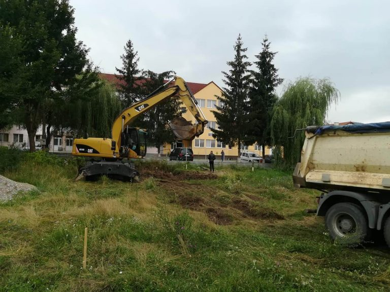 Beclean: A început construcția a 24 de locuințe pentru medici