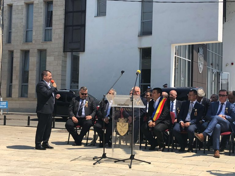 """Sorin Mareş, secretar de stat în MADR, la """"Zilele oraşului"""": """"Aud mai mult de Beclean ca staţiune decât de Drumul Gării"""""""