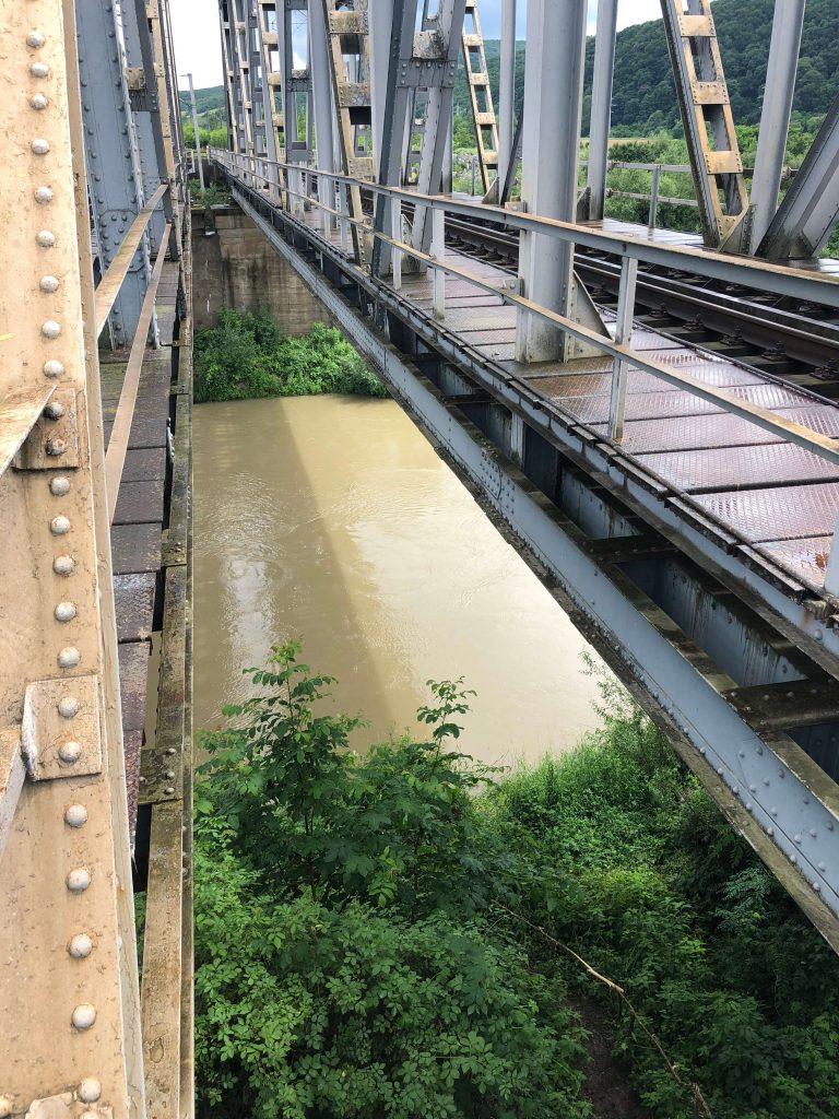 Podurile feroviare din zona Becleanului şi din judeţ, în vizorul CNCFR