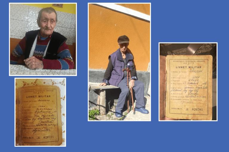 Frații Găncean din Negrilești, eroi vii de război ai județului Bistrița-Năsăud